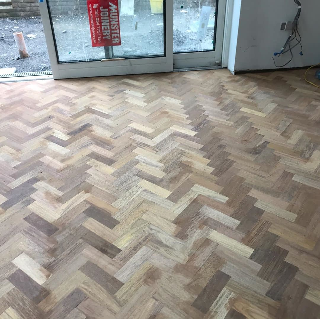 Wood Floor restoration works