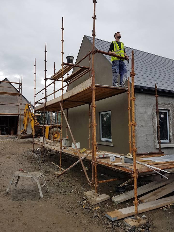 extension work on progress